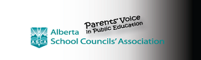 The logo for Alberta School Council Association