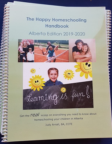 The Happy Homeschooling Handbook Alberta